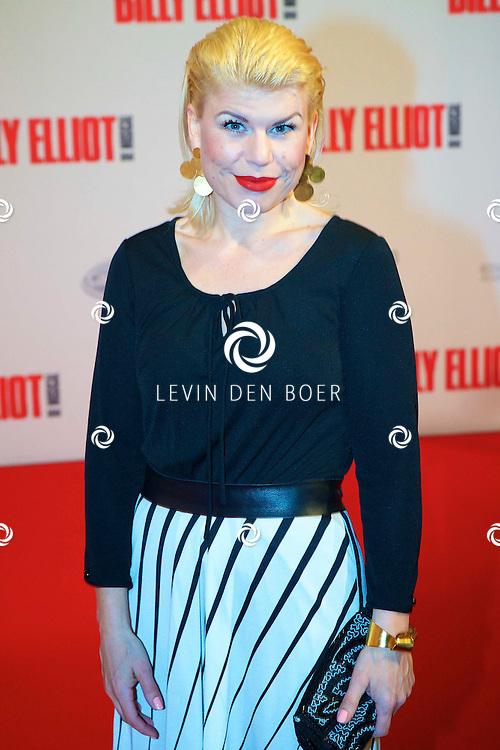 DEN HAAG - In het Afas Theater is de Nederlandse Premiere van Billy Eliot. Met hier op de foto  Anne-Marie Jung. FOTO LEVIN DEN BOER - PERSFOTO.NU