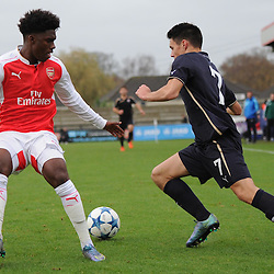Arsenal u19 v Dinamo Zagreb u19 | UEFA Youth League | 24 November 2015