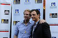 August 27, 2008 - Actors Matthew Modine and Tony Goldwyn attend the Spotlight Initiative Award Morning Reception Honoring Annette Bening during the 2008 Democratic National Convention in Denver.