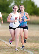 September 11, 2010: The Oklahoma Christian University Eagles women's cross country team participates in the UCO Land Run at Mitch Park in Edmond, OK.
