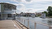 Henley on Thames. United Kingdom.  Floating Grandstand, Monday,  27/06/2016,   16:09:54   2016 Henley Royal Regatta, Henley Reach.   [Mandatory Credit Peter Spurrier/ Intersport Images]