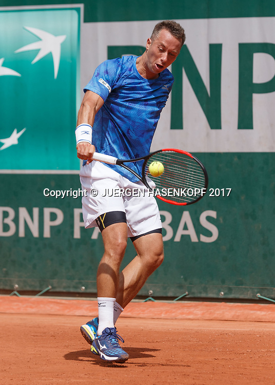 PHILIPP KOHLSCHREIBER (GER)<br /> <br /> Tennis - French Open 2017 - Grand Slam ATP / WTA -  Roland Garros - Paris -  - France  - 30 May 2017.