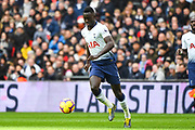 Tottenham Hotspur Defender Davinson Sanchez (6) in action during the Premier League match between Tottenham Hotspur and Newcastle United at Wembley Stadium, London, England on 2 February 2019.