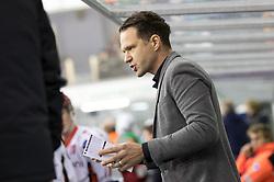 Gaber Glavic, head coach of HDD SIJ Acroni Jesenice during ice hockey match between HK SZ Olimpija and HDD SIJ Acroni Jesenice in AHL - Alps Hockey League 2017/18, on October 25, 2017 in Hala Tivoli, Ljubljana, Slovenia. Photo by Matic Klansek Velej / Sportida