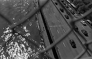 """FDR highway and East River seen from the Manhattan bridge...Part of long-term (2005-2008) story """"I See A Darkness"""". New York, NY."""