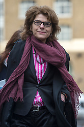 Vicky Pryce arriving at Southwark Crown Court, London, UK, January 28, 2013. Photo by i-Images.