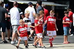 Bristol City fans  - Mandatory by-line: Dougie Allward/JMP - 04/08/2018 - FOOTBALL - Ashton Gate Stadium - Bristol, England - Bristol City v Nottingham Forest - Sky Bet Championship