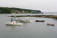 Lobster Boats, Bass Harbor, Maine