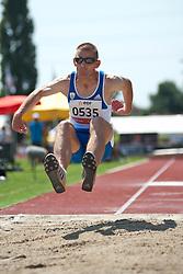 BARAKAS Athanasios, GRE, Triple Jump, T11, 2013 IPC Athletics World Championships, Lyon, France