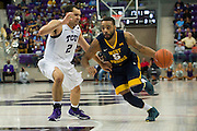 FORT WORTH, TX - JANUARY 4: Jaysean Paige #5 of the West Virginia Mountaineers drives to the basket against the TCU Horned Frogs on January 4, 2016 at Ed and Ray Schollmaier Arena in Fort Worth, Texas.  (Photo by Cooper Neill/Getty Images) *** Local Caption *** Jaysean Paige
