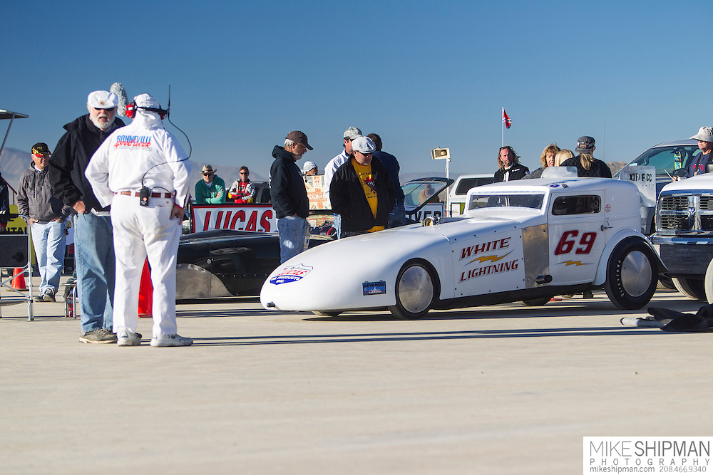 Lattin & Stevens, 69, White Lightning, eng XXF, body FCC, driver Bill Lattin, 182.004, previous record 160.000