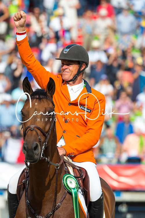Jeroen Dubbeldam, (NED), Zenith SFN - World Champions, - Second Round Team Competition - Alltech FEI World Equestrian Games&trade; 2014 - Normandy, France.<br /> &copy; Hippo Foto Team - Leanjo De Koster<br /> 25/06/14