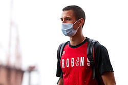 Filip Benkovic of Bristol City arrives during a friendly match before the Premier League and Championship resume after the Covid-19 mid-season disruption - Rogan/JMP - 12/06/2020 - FOOTBALL - St Mary's Stadium, England - Southampton v Bristol City - Friendly.