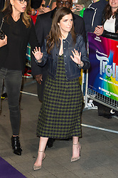 © Licensed to London News Pictures. 29/09/2016. ANNA KENDRICK arrives for the lighting of The London Eye to celebrate the animation film Trolls. London, UK. Photo credit: Ray Tang/LNP