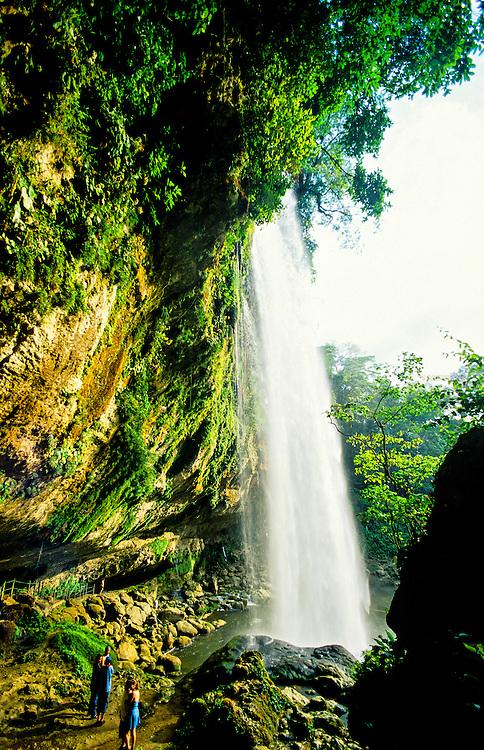 Misol-ha Waterfalls, near Palenque, Chiapas, Mexico