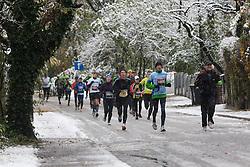 at 17th Ljubljana Marathon 2012 on October 28, 2012 in Ljubljana, Slovenia. (Photo By Matic Klansek Velej / Sportida.com)