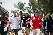 March 27-29, 2015: Malaysian Grand Prix - Marcus Ericsson, Sauber Ferrari , Carlos Sainz Jr. Scuderia Toro Rosso, Roberto Merhi (SPA) Manor Marussia F1 Team