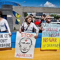 La comunità Ucraina di Roma contro la Russia