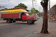 Truck in Santiago de Cuba, Cuba.