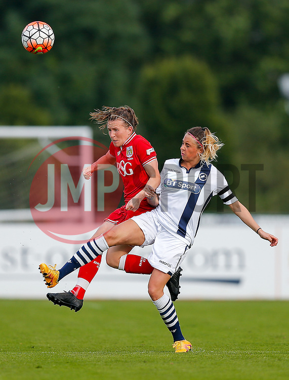 Frankie Fanton-Brown defender for Bristol City Women in action - Mandatory byline: Rogan Thomson/JMP - 09/07/2016 - FOOTBALL - Stoke Gifford Stadium - Bristol, England - Bristol City Women v Milwall Lionesses - FA Women's Super League 2.