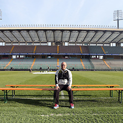 PADUA, ITALY - NOVEMBER 21: Charles Wessels Operational Head during the South African national rugby team photograph and captains run at Stadio Euganeo on November 21, 2014 in Padua, Italy. (Photo by Steve Haag/Gallo Images)
