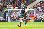 Jamie Vardy of Leicester City (9) in action during the Pre-Season Friendly match between Scunthorpe United and Leicester City at Glanford Park, Scunthorpe, England on 16 July 2019.