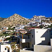 Homes in Pedregal. Cabo San Lucas, Baja California Sur, Mexico.