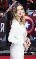 Elizabeth Olsen, Captain America: Civil War - European film premiere, Westfield Shopping Centre, London UK, 26 April 2016, Photo by Richard Goldschmidt