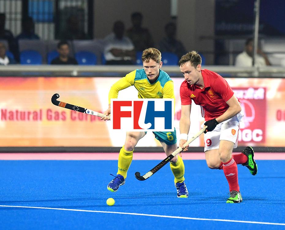 Odisha Men's Hockey World League Final Bhubaneswar 2017<br /> Match id:09<br /> Australia v England<br /> Foto: Harry Martin (Eng) and Matt Dawson (Aus) <br /> WORLDSPORTPICS COPYRIGHT FRANK UIJLENBROEK