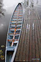Dragon Boat after an early snow, Wascana lake Regina Saskatchewan