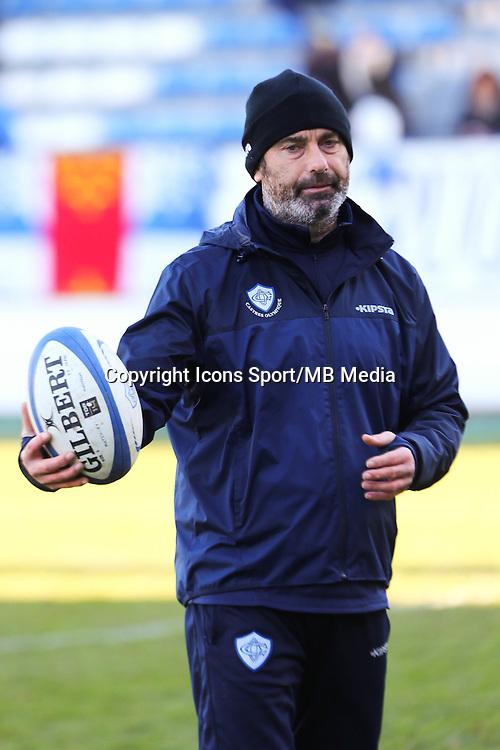 David Darricarrere - 03.01.2015 - Castres / La Rochelle - 15eme journee de Top 14 - <br />Photo : Laurent Frezouls / Icon Sport