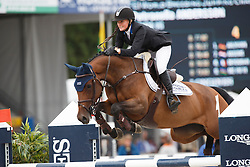 Andersson Petronella (SWE) - Isaura VG<br /> Final 6 years<br /> FEI World Breeding Jumping Championships for Young Horses - Lanaken 2014<br /> © Dirk Caremans