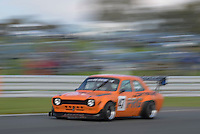 #47 Piers Grange Ford Escort MKI (T) 2000 during the CSCC Special Saloons and Modsports at Oulton Park, Little Budworth, Cheshire, United Kingdom. October 15 2016. World Copyright Peter Taylor/PSP. <br /> Copy of publication required for printed pictures.  Every used picture is fee-liable. http://archive.petertaylor-photographic.co.uk