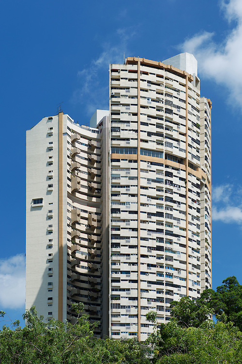 Pearl Bank Apartments - a high rise private residential building on Pearl's Hill in Outram within Chinatown of Singapore