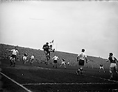 1959 - Soccer: League of Ireland v English League at Dalymount Park