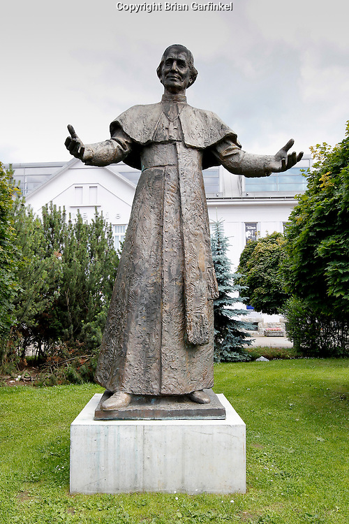 A statue in Zilina, Slovakia on Saturday July 2nd 2011. (Photo by Brian Garfinkel)