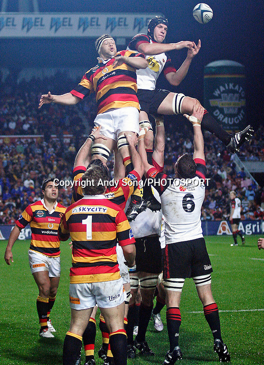 during the Air New Zealand Cup week 3 rugby union match between Waikato and Canterbury at Waikato Stadium in Hamilton, New Zealand on Friday 11 August 2006. Photo: Andy Song/PHOTOSPORT