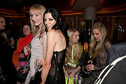 JADE PARFITT; LIBERTY ROSS; KATIE HILYER; LAURA BAILEY, VOGUE.COM'S 15TH BIRTHDAY. W Hotel, Leicester Sq. London. 17 February 2011. -DO NOT ARCHIVE-© Copyright Photograph by Dafydd Jones. 248 Clapham Rd. London SW9 0PZ. Tel 0207 820 0771. www.dafjones.com.