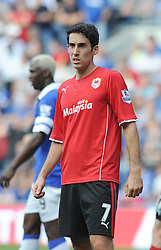 Cardiff City's Peter Whittingham  - Photo mandatory by-line: Alex James/JMP - Tel: Mobile: 07966 386802 31/08/2013 - SPORT - FOOTBALL - Cardiff City Stadium - Cardiff - Cardiff City V Everton - Barclays Premier League