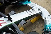 February 26, 2017: Circuit de Catalunya. Valtteri Bottas (FIN), Mercedes AMG Petronas Motorsport, F1 W08 front wing detail