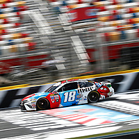 May 25, 2017 - Concord, NC, USA: Kyle Busch (18) takes to the track to practice for the Coca Cola 600 at Charlotte Motor Speedway in Concord, NC.