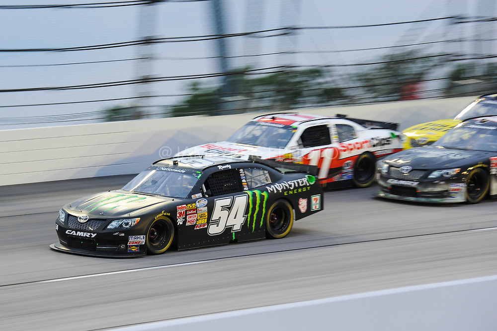 May 10, 2013: NASCAR Nationwide VFW Sport Clips Help a Hero 200, Kyle Busch	Monster Energy   (Joe Gibbs) , Jamey Price / Getty Images 2013 (NOT AVAILABLE FOR EDITORIAL OR COMMERCIAL USE