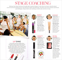 "The Radio City Rockettes in ""O, The Oprah Magazine,"" December 2013 issue."