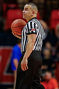 CHAMPAIGN, IL - DECEMBER 08: NCAA basketball official Larry Scirotto is seen during the Illinois Fighting Illini and UNLV Rebels game at State Farm Center on December 8, 2018 in Champaign, Illinois. (Photo by Michael Hickey/Getty Images) *** Local Caption *** Larry Scirotto