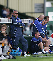 Photo: Lee Earle.<br /> Yeovil Town v Cardiff City. Pre Season Friendly. 21/07/2007.Cardiff manager Dave Jones (L).