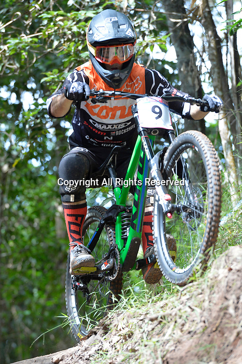 22.04.2016. Cairns,Australia. UCI Mountain Bike World Cup. Downhill qualifying.  Connor Fearon from Australia riding for  KONA FACTORY TEAM DH.