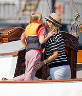 Amsterdam, 23-08-2015<br /> <br /> <br /> King Willem-Alexander and Queen Maxima, Princess Catharina-Amalia, Princess Alexia, Princess Ariane, Princess Beatrix, Princess Mabel and her daughters Zaria and Luana attened Sail Amsterdam .<br /> <br /> <br /> Photo:Royalportraits Europe/Bernard Ruebsamen