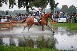 Clark Aofe (IRL) - Wasting Light<br /> FEI World Championship Young Eventing Horses <br /> Mondial du Lion - Le Lion d'Angers 2013<br /> © Dirk Caremans