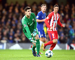 December 5, 2017 - London, England, United Kingdom - Chelsea's Thibaut Courtois..during the Champions  League Group C  match between Chelsea and Atlético Madrid at Stamford Bridge, London, England on 5 Dec   2017. (Credit Image: © Kieran Galvin/NurPhoto via ZUMA Press)