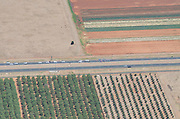 Vineyards and Wheat Fields - 2012 Santos Tour Down Under - Stage 1 Helicopter Aerials - Adelaide